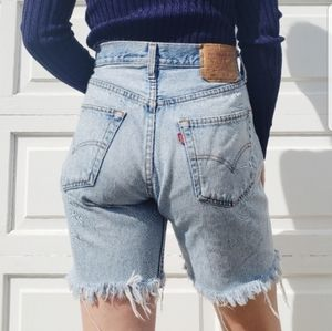 Levi's 501 Cut-Off Shorts